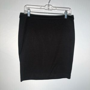 Micheal Kors Black Body Con Mini Skirt